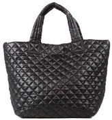 M Z Wallace 'Small Metro' Quilted Oxford Nylon Tote - Black