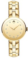 Movado Sapphire Bracelet Watch, 28mm