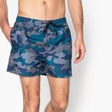 Jack and Jones Camouflage Swim Shorts