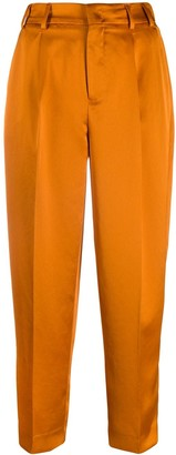 Pt01 Cropped Pleated Trousers