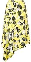 Derek Lam 10 Crosby Asymmetrical Midi Skirt