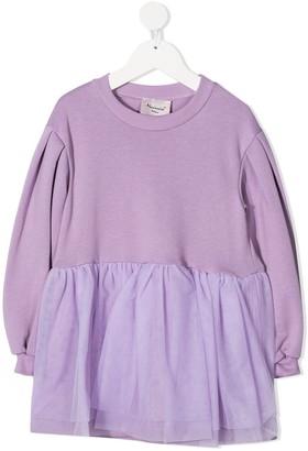 Mariuccia Milano Kids Poplin Hem Dress