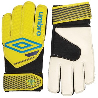 Umbro Junior Classico II Goalkeeper Gloves Blazing Yellow/Ibiza Blue/Sodalite Blue