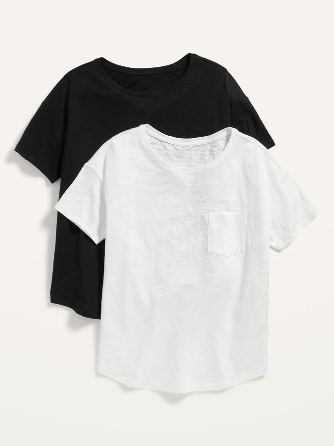 Thumbnail for your product : Old Navy Loose Easy Pocket Tee 2-Pack for Women