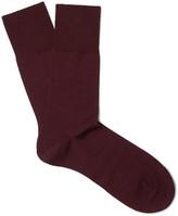 Falke - Airport Mélange Virgin Wool-blend Socks