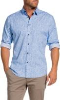 TAROCASH Felix Stretch Print Shirt