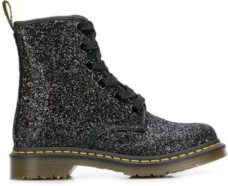 Dr. Martens 1460 Farrah glitter boots