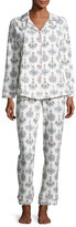 BedHead Print Classic Pajama Set, Chandelier Damask