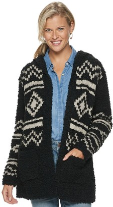 Sonoma Goods For Life Women's Long Sleeve Hooded Cardigan