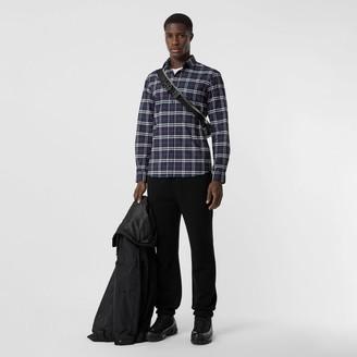 Burberry Sma Scae Check Stretch Cotton Shirt