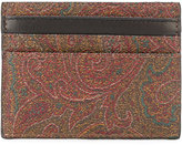 Etro patterned cardholder