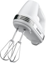 Cuisinart HM-70 Power Advantage 7-Speed Hand Mixer, Stainless & White