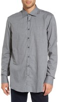 Sand Men's Trim Fit Sport Shirt
