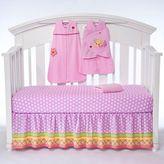Halo SleepSack® Jumbo's Flower Garden 5-Piece Bumper-Free Crib Set