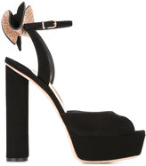 Sophia Webster Ray sandals - women - Leather/Suede/PVC - 35.5