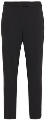DKNY Cropped Stretch-crepe Tapered Pants