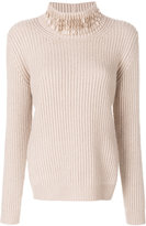 Fabiana Filippi roll-neck sweater