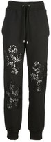 Moschino Lace Detailing Track Pants