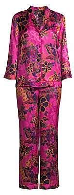 Natori Women's Berry Delphine Pajama Set