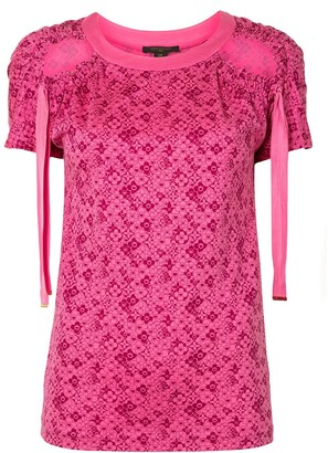 Louis Vuitton pre-owned Cherry Blossom T-shirt