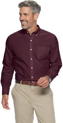 Croft & Barrow Men's Easy-Care Long Sleeve Button-Down Shirt