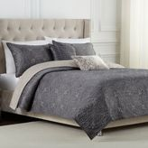 Bed Bath & Beyond Medallion Twin Reversible Quilt Set in Platinum