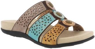 Spring Step L'Artiste by Leather Slide Sandals- Glennie