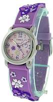 Timex Girls T74002 Butterfly Flowers Resin Strap Watch
