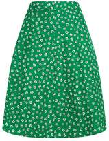 Claudie Pierlot Floral Mini Skirt