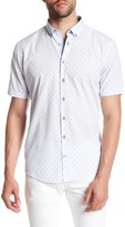 Lindbergh Dotted Short Sleeve Regular Fit Shirt
