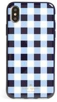Kate Spade gingham iPhone X case