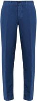 Massimo Alba Winch linen-blend trousers