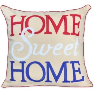 Small World Home 18x18 Home Sweet Home Pillow