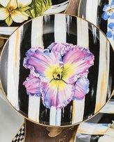 Mackenzie Childs MacKenzie-Childs Iris Thistle & Bee Salad Plate