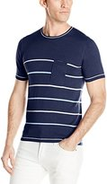 Parke & Ronen Men's Sky Port Knit Crewneck T-shirt