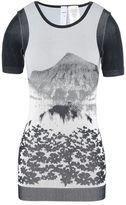 adidas by Stella McCartney Stella McCartney run mountain floral t-shirt