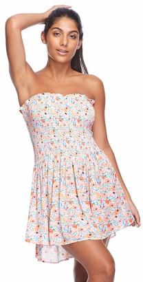 Body Glove Women's Ona Bandeau Mini Dress Cover-Up
