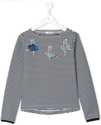 Familiar striped Ballerina T-shirt