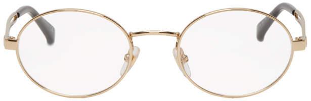 Givenchy Gold GV0108 Glasses