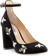 INC International Concepts Women's Gallan Ankle-Strap Pumps, Created for Macy's