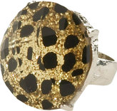 Gold Leopard Ring