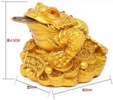 Generic Feng Shui Money Fortune Oriental Chinese I Ching Frog Toad Coin Home