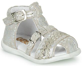 GBB ALIDA girls's Sandals in Beige