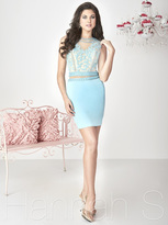 Hannah S - Classy Jewel Two-Piece Cocktail Dress 27127