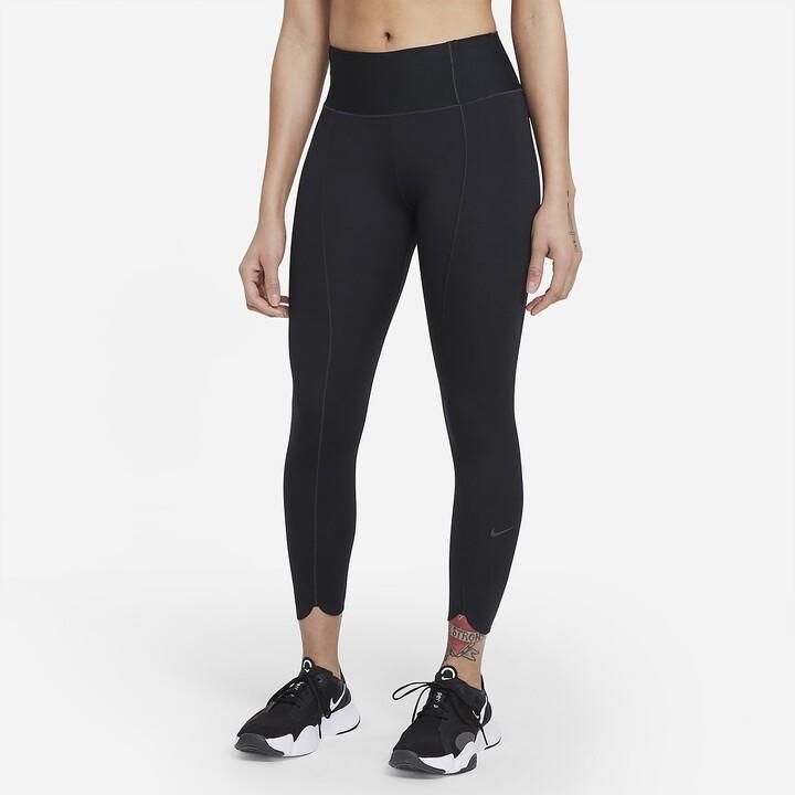 Nike Women's Crop Leggings One Luxe Icon Clash