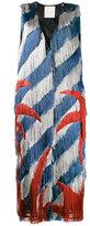 Marco De Vincenzo palm fringed gilet - women - Silk/Polyester/Viscose - 46