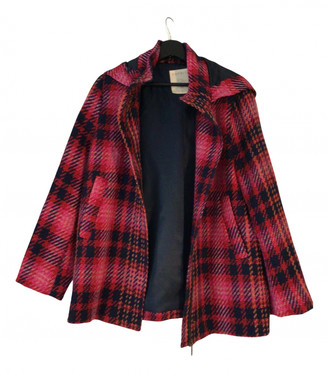 Esprit Red Synthetic Coats