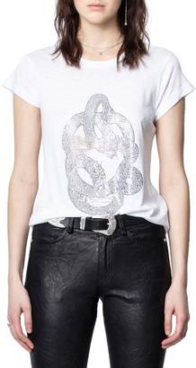 Zadig & Voltaire Skinny Skull T-Shirt