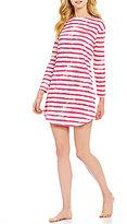 Lauren Ralph Lauren Striped Jersey Sleepshirt