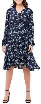 Ripe Juliette Tie Front Dress Sky